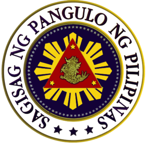 Seal of the President of the Philippines - Image: Prior Pres Seal