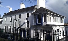 Priory House is a Grade II Listed building in Monmouth, Wales. 2.jpg