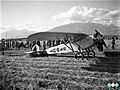 Pristanek letala na Mengeškem polju leta 1932.jpg