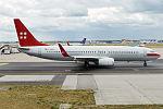 PrivatAir, D-APBC, Boeing 737-8BK (15834391084) (2).jpg