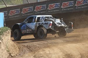 Rob MacCachren - MacCachren's racing his Pro 2WD truck to his 200th victory in TORC