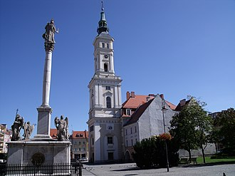 Opole Voivodeship - Prudnik, with its preserved medieval town centre