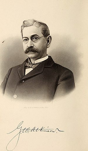 George W. Atkinson - Image: Public addresses, etc., of Geo. W. Atkinson, governor of West Virginia, during his term of office (1901) (14596713437)