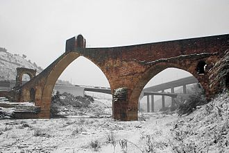 Battle of Martorell (1641) - Pont del Diable, from which the Catalan army retreated