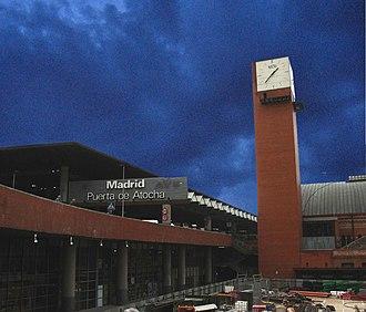 Madrid Atocha railway station - Image: Puerta de Atocha