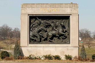 Patterson Park - General Casimir Pulaski Monument