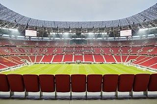 Puskás Aréna Football stadium in Budapest, Hungary