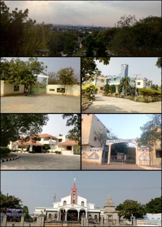 Pulivendula - Image: Pvdl montage