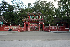 Quốc Học – Huế High School for the Gifted - Image: Quốc Học Huế