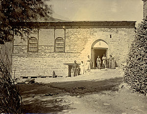 Assyrian Church of the East - Residence of the Patriarch in Qudshanis, Ottoman Empire  (1692-1918).