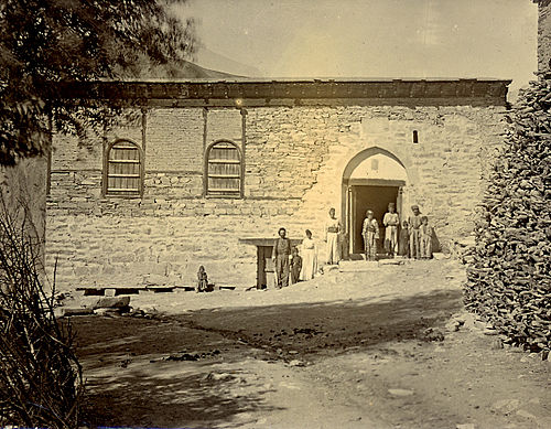 Residence of the Assyrian Patriarch in Qudshanis. Qudshanis-Hakkari Mar Shimon house.jpg