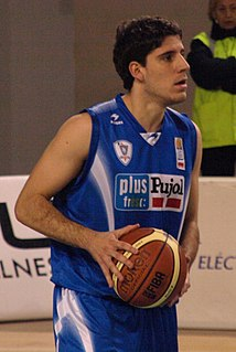 Quino Colom Spanish basketball player