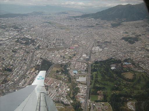 Quito overhead