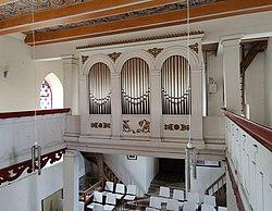 Röpersdorf (Nordwestuckermark), Dorfkirche, Orgel (5).jpg