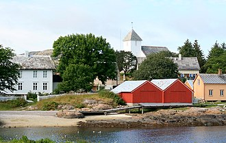 Rørvik - View of the village