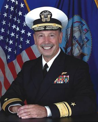 Garland Wright - Rear Admiral Gar Wright, USN