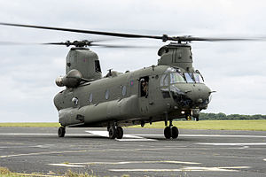 RAF Odiham - An RAF Chinook HC6 based at Odiham.