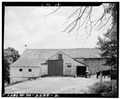 REAR ELEVATION WITH WOOD ADDITION - Walter C. Pyle Barn, 1768, Legislative Route 15037, Kaolin, Chester County, PA HABS PA,15-KAOL.V,1A-2.tif