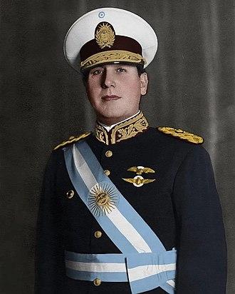 Juan Perón - Juan Perón in 1940