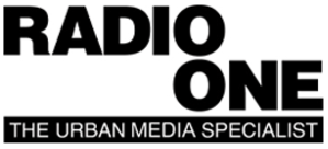 Urban One - Radio One logo and slogan used until May 8, 2017.