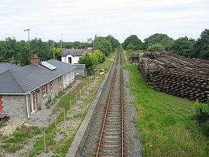 Duleek railway station - Duleek station.