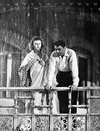 The Rains Came - Loy and George Brent in The Rains Came
