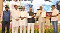 Ram Nath Kovind presenting the National Awards for Outstanding Services in the field of Prevention of Alcoholism and Substance (Drugs) Abuse (1).JPG