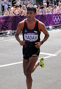Ram Singh Yadav (India) London 2012 Men.jpg