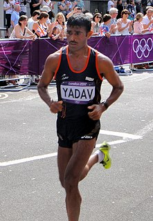 Ram Singh Yadav Indian marathon runner