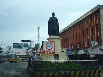 Rama Varma XVI - Statue of Rama Varma XVI in Thrissur city