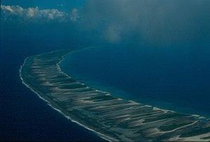 Rangiroa - Western part of Rangiroa atoll