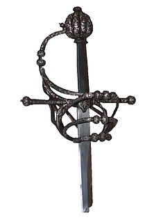 Hilt Handle of a sword or similar weapon