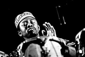 Rebop Kwaku Baah - Baah performing with Traffic in 1973, Musikhalle Hamburg