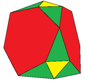 Rectified truncated tetrahedron - Image: Rectified truncated tetrahedron