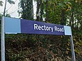 Rectory Road stn signage.JPG
