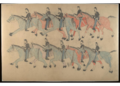 Red Horse pictographic account of the Battle of the Little Bighorn, 1881. 8000.png
