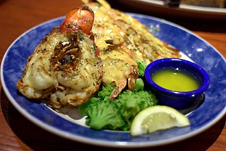 Red Lobster - A Lobsterfest duo meal