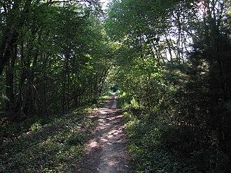 Lexington and West Cambridge Railroad - Reformatory Branch Rail Trail in Bedford
