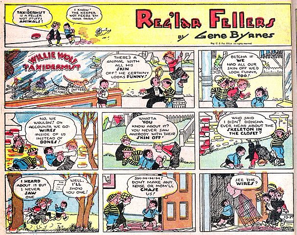 Wire Sizes Chart: Reg7lar Fellers - The Funnies No. 3 02.jpg - Wikimedia Commons,Chart