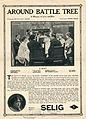 Release flier for AROUND BATTLE TREE, 1913.jpg