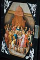 Religious painting on antique cabinet (39591595542).jpg
