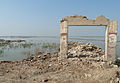 Remains of a school destroyed by flooding, near Jacobabad (5333104910).jpg