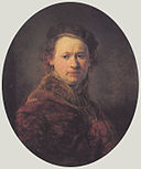 Rembrandt - Self-portrait with Beret and Red Cloak - Karlsruhe.jpg
