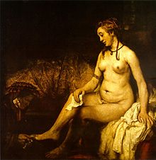 Rembrandt Bathsheba in het bad, 1654.jpg