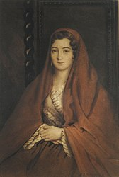 Raymond Monvoisin: Young Chilean or Portrait of a Chilean Lady