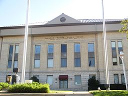 Jackson Parish Courthouse i Jonesboro.