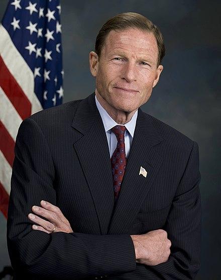 Richard Blumenthal Official Portrait.