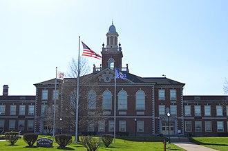 Richmond High School (Richmond, Indiana) - Richmond High School, April 2016