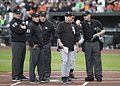 Rick Renteria, umpires (34319070672).jpg