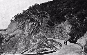 History of California's state highway system - The Ridge Route, ca. 1920